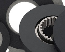 Industrial motors friction materials